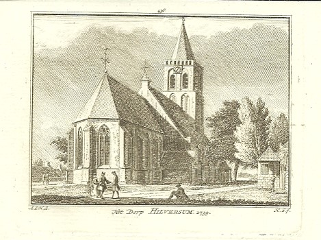[HILVERSUM]. - Het Dorp Hilversum. 1739. HAEN, Abr. de & Hendrik SPILMAN