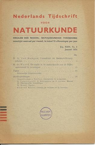 Causaliteit en Kramers-Kronig relaties. KAMPEN, N.G. van