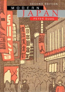 Modern Japan. Second edition. DUUS, Peter