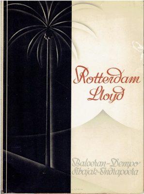 Rotterdam Lloyd. Baloeran - Dempo - Sibajak _ Indrapoera. [Text in English]. ROTTERDAMSCHE LLOYD