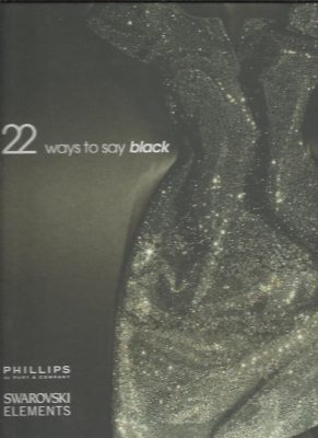 22 Ways to Say Black. MARSHALL, Alexandra [Ed.]