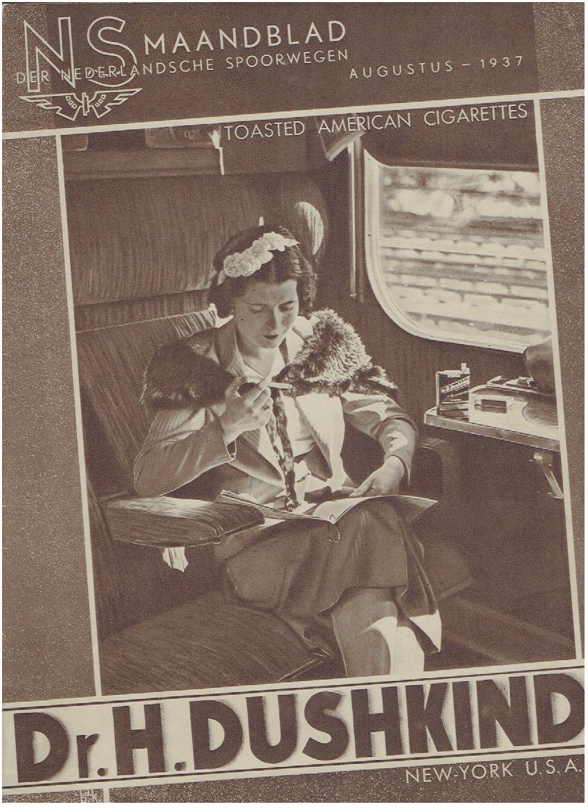 N.S. Maandblad der Nederlandsche Spoorwegen. Augustus 1937 - 3e jaargang - No. 1. N.S.