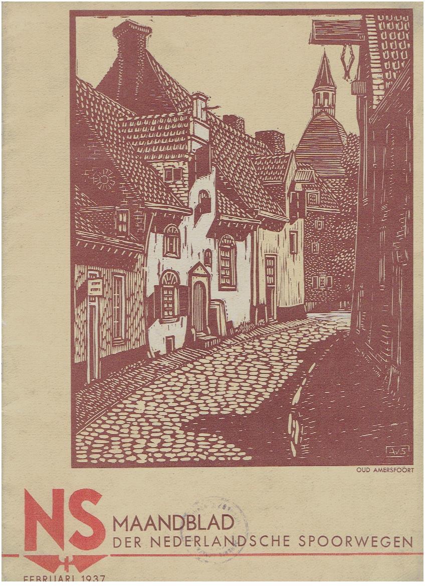 N.S. Maandblad der Nederlandsche Spoorwegen. Februari 1937 - 3e jaargang - No. 1. N.S.