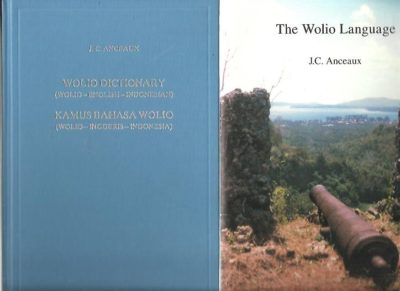 Wolio Dictionary (Wolio-English-Indonesian) / Kamus Bahasa Wolio (Wolio-Inggeris-Indonesia) + The Wolio Language. Outline of grammatical description and texts. Second edition. ANCEAUX, J.C.