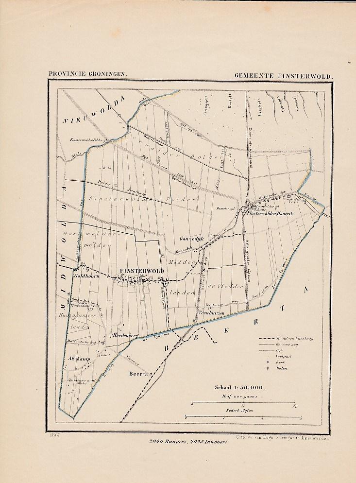 Gemeente Finsterwold. KUYPER, J.