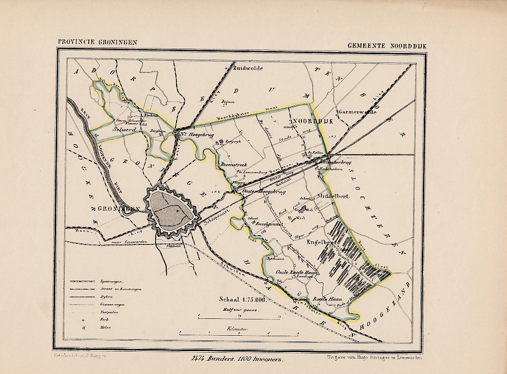Gemeente Noorddijk. KUYPER, J.