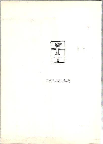 Werner Emil Schult - A book of man. Connected drawings. [Signed - 122/200]. SCHULT, W. Emil