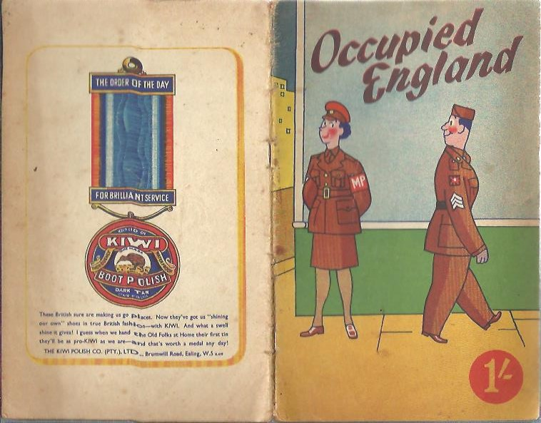 Occupied England. A Selection of Drawings and Jokes. WORLD WAR II