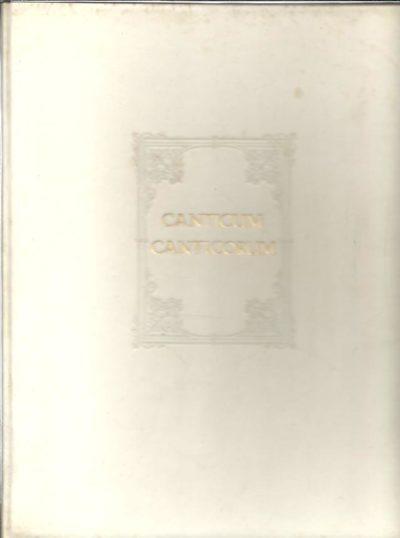 Het Blokboek Canticum Canticorum als Graphisch Kunstwerk - Het Blokboek Canticum Canticorum als Godsdienstig Kunstwerk. 3 parts in 1 volume. [Nr. CXX]. DELEN, A.J.J. & M. MEERTENS