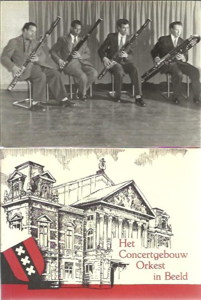 Het Concertgebouw-Orkest - Amsterdam [booklet + 15 photographs]. METZ, Louis [Samensteller / Composed by / Verfasser]