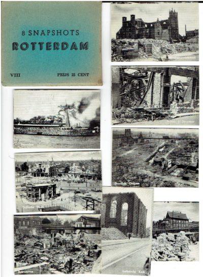 8 Snapshots Rotterdam - VIII - Prijs 25 Cent. ROTTERDAM
