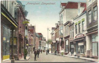 Amersfoort Langestraat. ANSICHTKAART - PICTURE POSTCARD