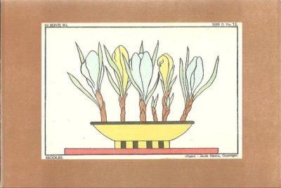 In bonte rij. Tekenvoorbeelden voor de lagere school - Serie D. KOELSTRA, J. & A. GROEN