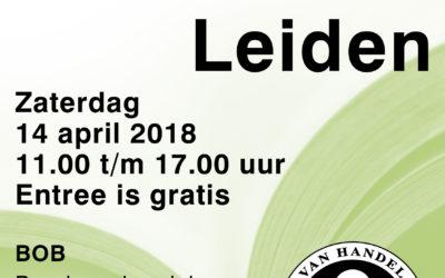 Boekenbeurs in Leiden