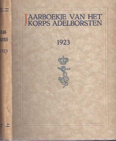 Jaarboekje van het Korps Adelborsten. 52ste Jaargang 1923. [MARINE]