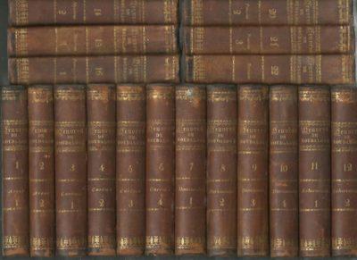 Oeuvres complètes du P. Bourdaloue, de la Compagnies de Jésus. Tome I - XXII. BOURDALOUE, [Louis]