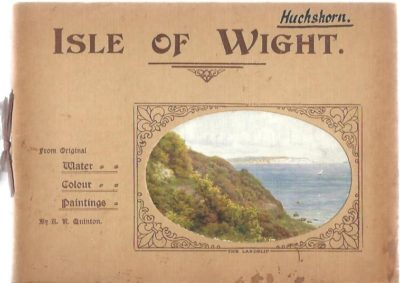 Isle of Wight. From Original Water Colour Paintings by A.R. Quinton.