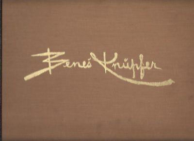Benes Knüpfer. Jeho Petapadesat Obrazu. Uvod napsal Karel B. Madl. [Introduction Karel B. Madl]. KNÜPFER, Benes