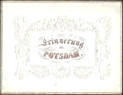Erinnerungen an Potsdam. Twelve steelengraved views. [POTSDAM]