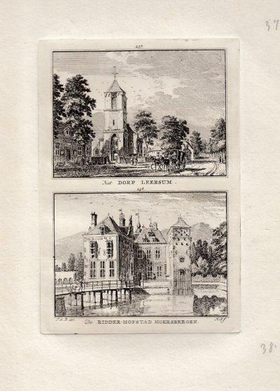 [LEERSUM en DOORN]. - Het Dorp Leersum. - de Ridder-Hofstad Moersbergen. BEIJER, Jan de & Hendrik SPILMAN
