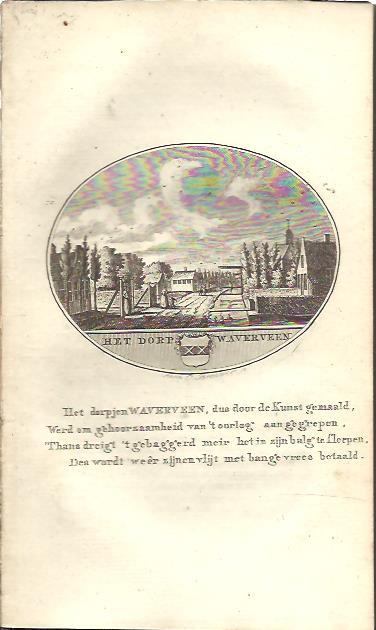 Het dorp Waverveen. WATERVEEN - Anna C. BROUWER