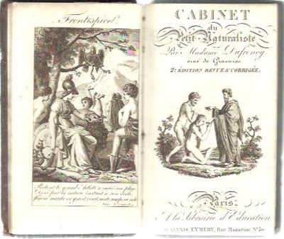 Cabinet de Petit Naturaliste. Troisième édition, revue, corrigée et augmentée par l'auteur. DUFRENOY, Madame