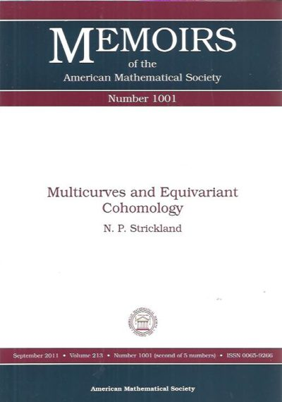 Multicurves and Equivariant Cohomology. STRICKLAND, N.P.