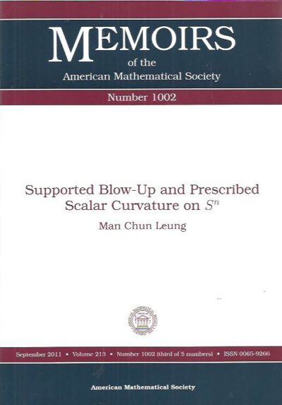 Supported Blow-Up and Prescribed Scalar Curvature on Sn. LEUNG, Man Chun