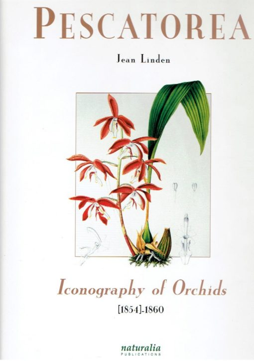 Pescatorea. Iconography of Orchids [1854]-1860. LINDEN, Jean