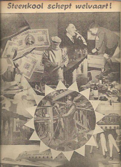 Commentaar. Uitgave van de sectie voorlichting van het militair gezag 16 Juni 1945 Nr. 1 - 10 Juni 1946 1e Jaargang nummer 52. [Eerste jaargang compleet] + 4 pp. Alfabetisch register. COMMENTAAR