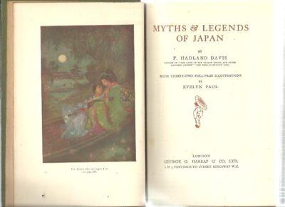 Myths & Legends of Japan. HADLAND DAVIS, F.