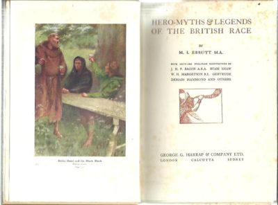 Hero-Myths & Legends of the British Race. EBBUT, M.I.