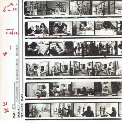Studie informatie Rijksakademie van Beeldende Kunsten Amsterdam 1976. RIEMSDIJK, J. van e.a. [Red.]