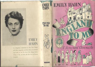 England to me. A Personal Chronicle. HAHN, Emily