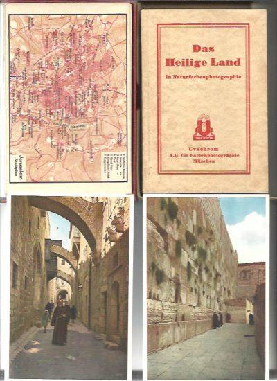 Das Heilige Land. Eine Sammlung von 66 Farbenphotographien mit Erläuterungen von G.L. Respis. RESPIS, G.L.