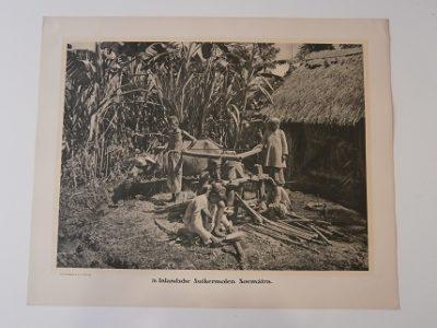 Blauwverven met Indigo van Batikdoeken. Java. [DEMMENI, Jean]