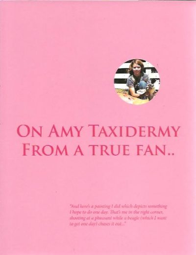 on Amy Taxidermy - From a True Fan (2011) Looove Tinkebell. TINKEBELL