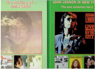 John Lennon - The solo collection vol. 1 - The making of Imagine + vol. 2 John Lennon in New York. MOLTMAKER, Azing
