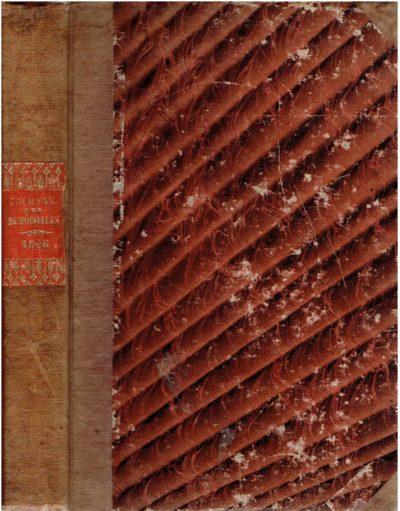 Journal des Demoiselles [augmenté du Journal des Jeunes Personnes, du Magasin des Demoiselles, du Journal des Jeunes Filles, de la Brodeuse et du Bon Ton - Année 1846]. JOURNAL DES DEMOISELLES