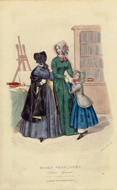 Journal des Demoiselles augmenté du Journal des Jeunes Personnes, du Magasin des Demoiselles, du Journal des Jeunes Filles, de la Brodeuse et du Bon Ton - Année 1847. JOURNAL DES DEMOISELLES