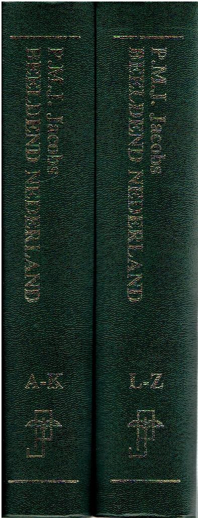 Beeldend Nederland - biografisch handboek. [2 volume set]. JACOBS, P.M.J.