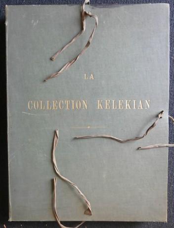 La Collection Kelekian - Étoffes & Tapis d'Orient & de Venise. Cent Planches. - No. 207/300. KELEKIAN - GUIFFREY, Jules & Gaston MIGEON