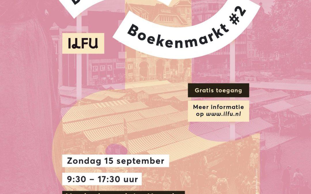 Zondag 15 september de Utrechtse Boekenmarkt