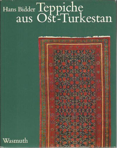 Teppisch aus Ost-Turkestan -  bekannt als Khotan-, Samarkand- und Kansu-Teppiche. BIDDER, Hans