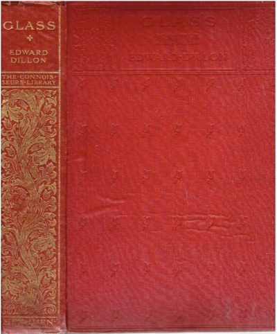Glass. [First edition]. DILLON, Edward