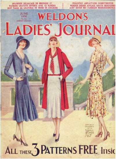 Weldon's ladies journal - June 1930 - No. 612 - export edition. WELDON