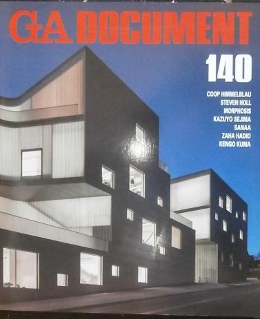 GA Document 140 - Coop Himmelblau - Steven Holl - Morphosis - Kazuyo Sejima - Sanaa - Zaha Hadid - Kengo Kuma. FUTAGAWA, Yoshio