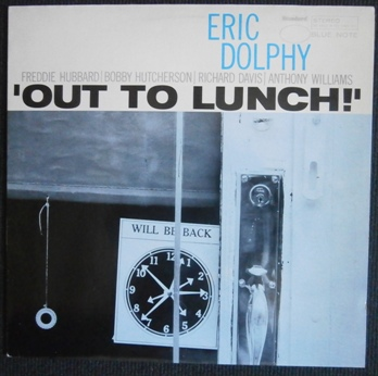Eric Dolphy - 'Out to Lunch!' - Reissue 038-60087. [VINYL] DOLPHY, Eric