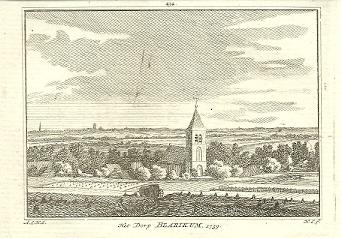 [BLARICUM]. - Het Dorp Blarikum. 1739. HAEN, Abr. de & Hendrik SPILMAN